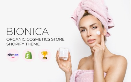 Bionika - Organic Cosmetics Store Shopify Theme
