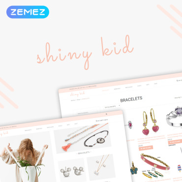 Preview image of Shiny Kid - Children Jewelry Elementor