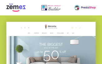 Decorta - Furniture Store PrestaShop Theme