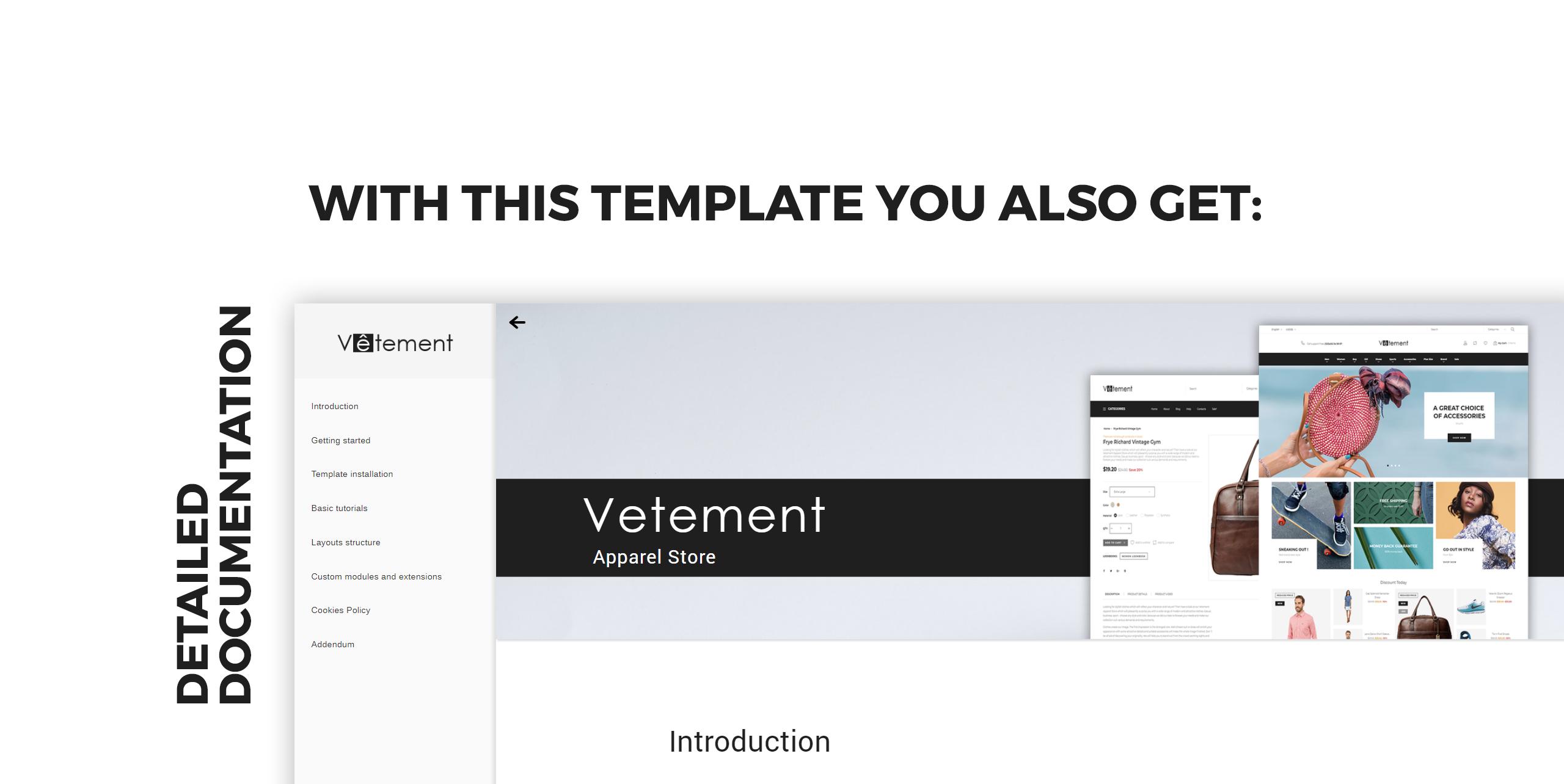 Website Design Template 74080 - ecommerce