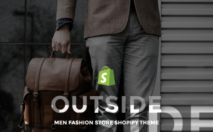 Outside - Men Fashion Store Shopify Theme