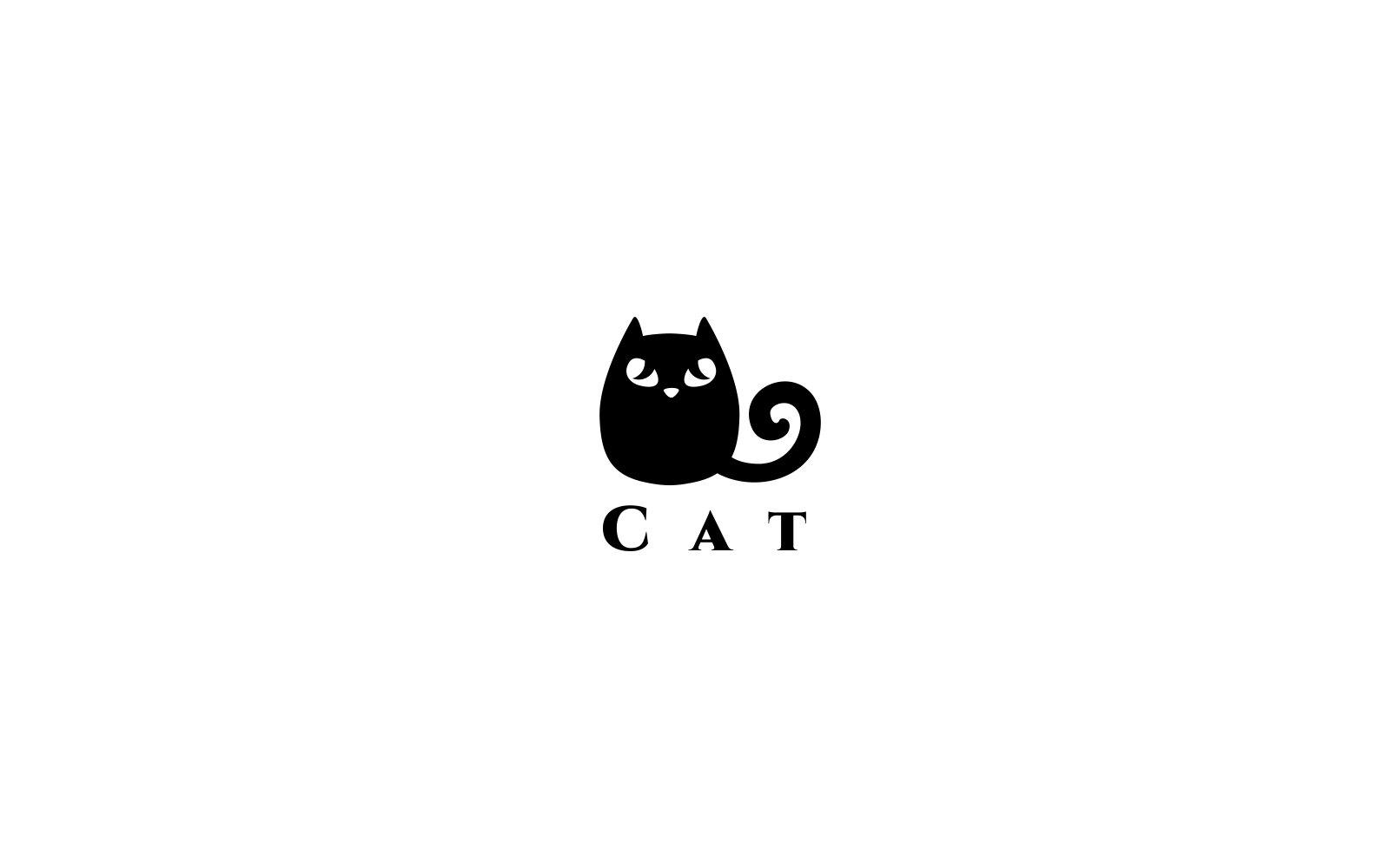 Cat Logo Template 74033