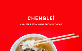 Chenglei - Bright Chinese Foor Restaurant Shopify Theme