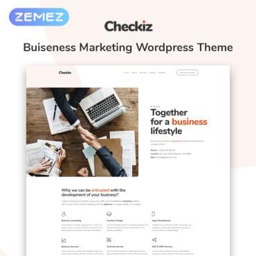 Купить  пофессиональные WordPress темы. Купить шаблон #74110 и создать сайт.
