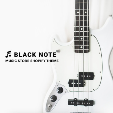 Preview image of Black Note - Music Store