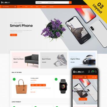 Купить  пофессиональные WooCommerce шаблоны. Купить шаблон #74149 и создать сайт.