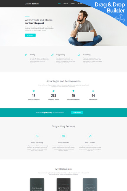 Website Design Template 74151 - inspiration
