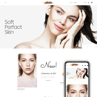 Preview image of Pluse - Cosmetic Store