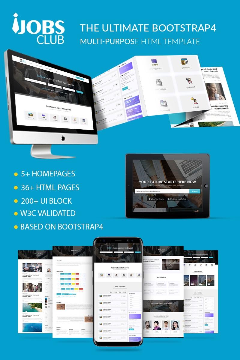 Plantilla para sitios web - Categoría: Transportes - versión para Desktop