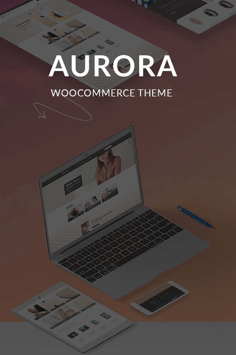 Aurora WooCommerce Theme