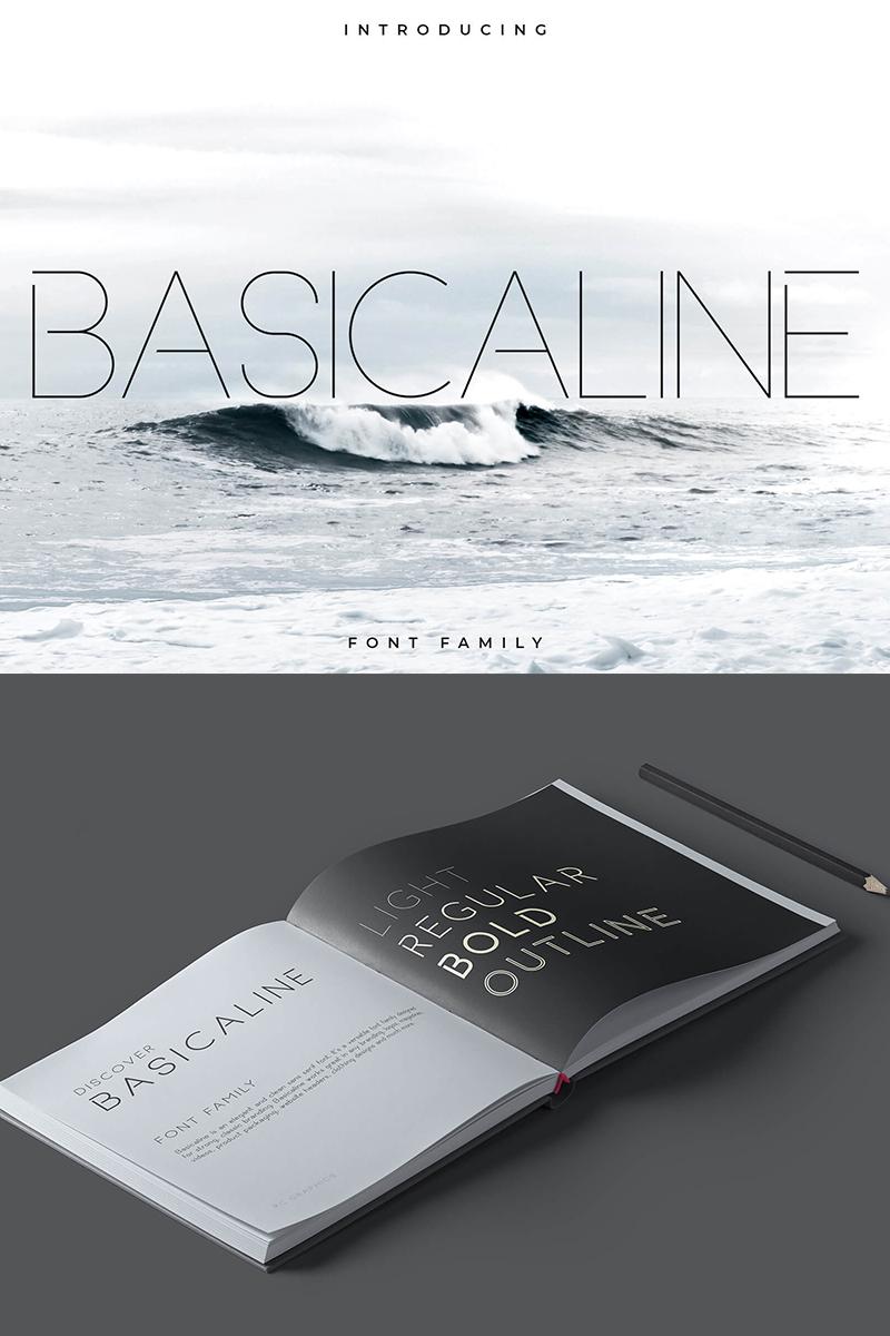 Basicaline Font Family - Sans Serif Font