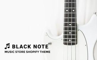Black Note - Music Store Shopify Theme