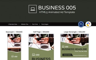 Business Banner 005 - Animated Ad Animated Banner