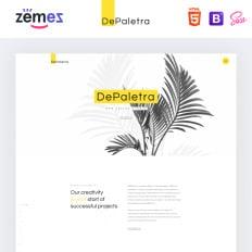 Depaletra Elegant Design Studio Responsive Bootstrap Website Template