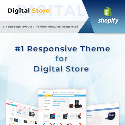 71+ Best Electronics Shopify Themes | TemplateMonster