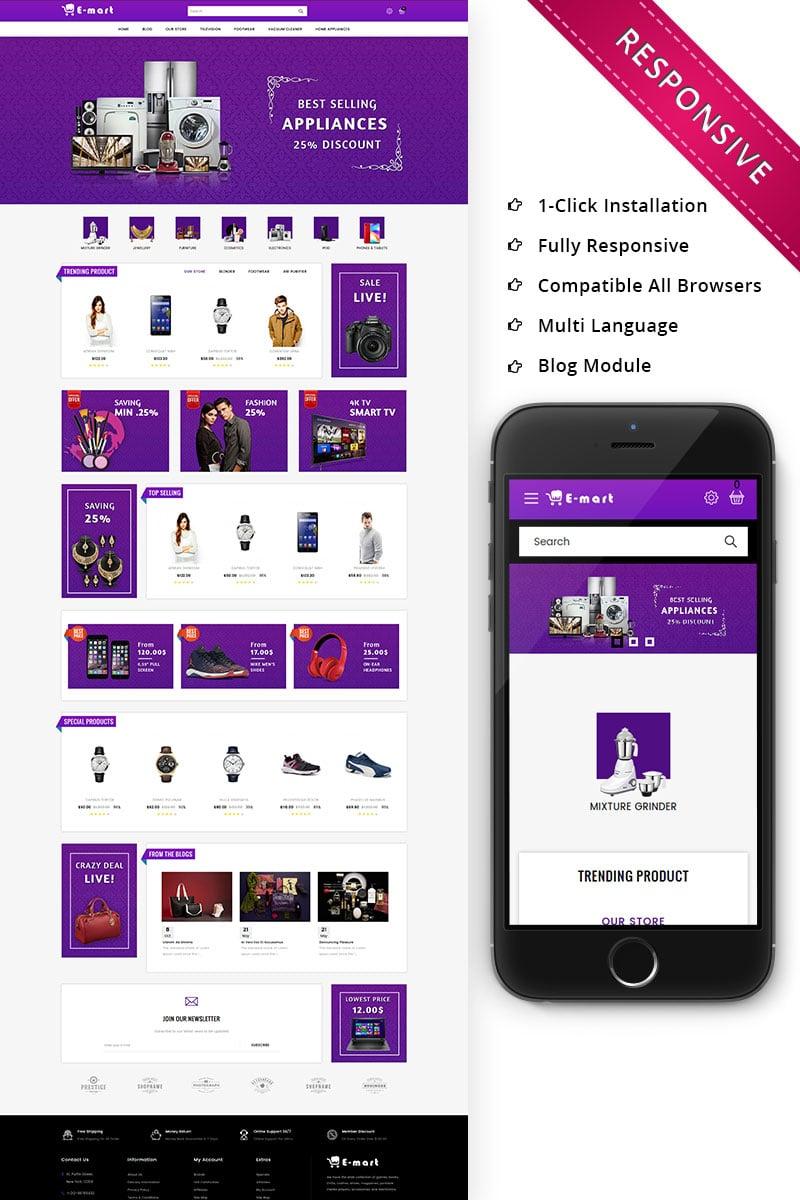 Emart - Mega Store Responsive Premium OpenCart Template - screenshot