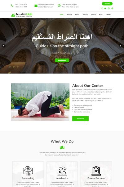 MuslimHub - Islamic Center
