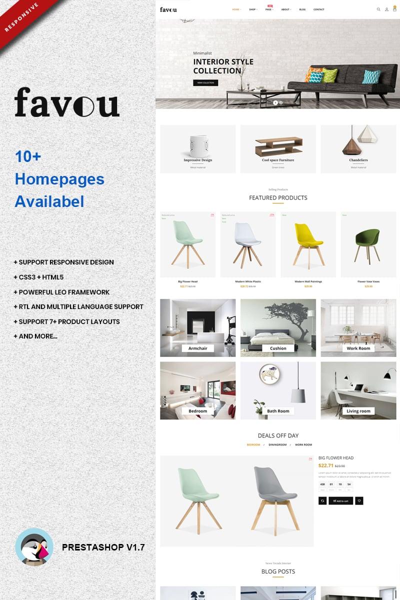 "PrestaShop motiv ""Favou - Furniture"" #74117"