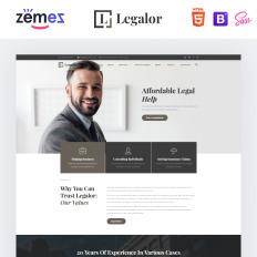 d7989d4b732 Legalor - Classy Law Company Responsive. Bootstrap webových stránek ...