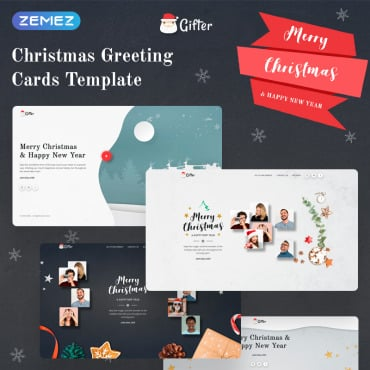 Preview image of Gifter - Greeting Card HTML