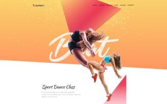Flydance - Dance Classes WordPress Elementor Theme