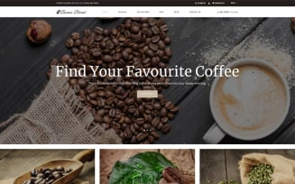 Beans Blend - Coffee Shop Shopify Theme