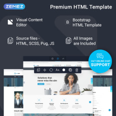 39+ best office website templates.