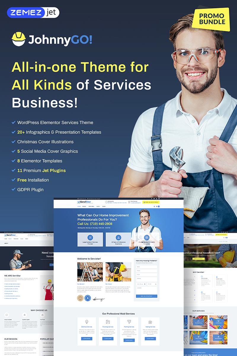 WordPress Services Website WordPress Theme #74232