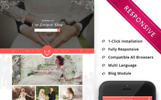 L&Z Wedding Store - Responsive OpenCart Template