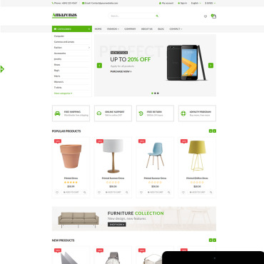 Preview image of Amazonas - Fashion, digital and furniture store