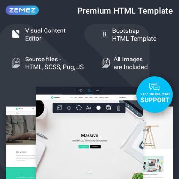 Купить  пофессиональные Bootstrap и html шаблоны. Купить шаблон #74362 и создать сайт.