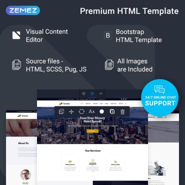 Купить  пофессиональные Bootstrap и html шаблоны. Купить шаблон #74363 и создать сайт.
