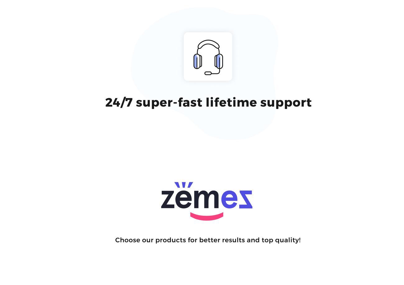shopify support, zemez