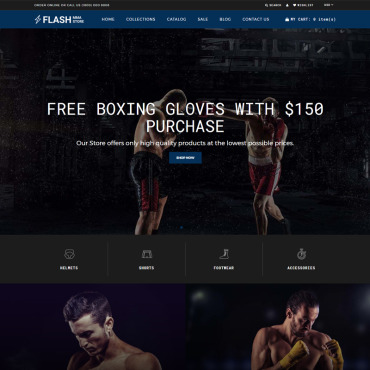 Preview image of Flash - MMA Store