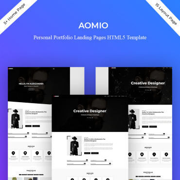 Preview image of Aomio Personal Portfolio