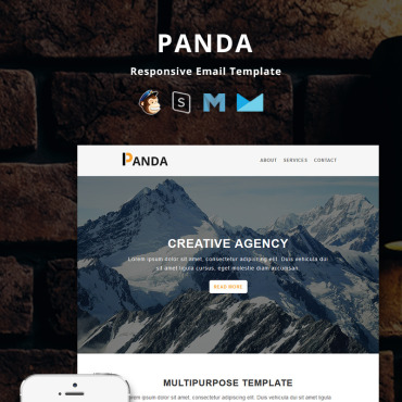 Preview image of Panda - Corporate Responsive Email