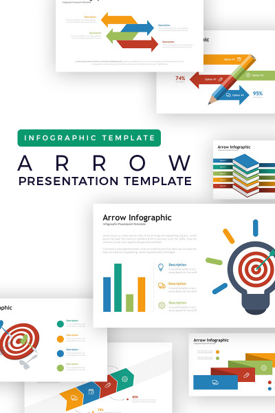Arrow - Infographic PowerPoint Template #74356