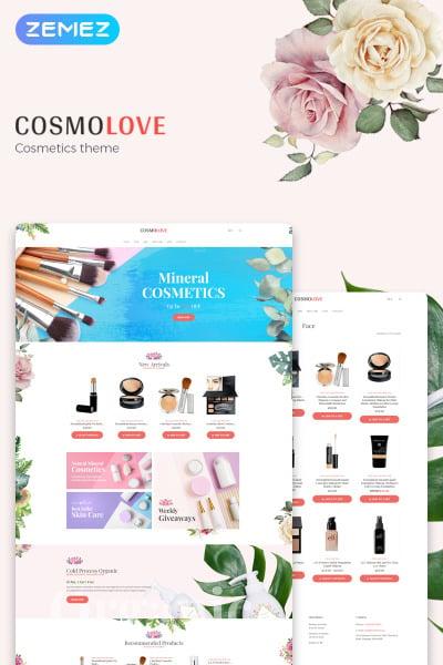 Cosmolove - Cosmetics Store Elementor