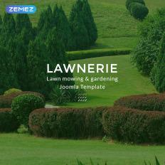 landscape design joomla templates