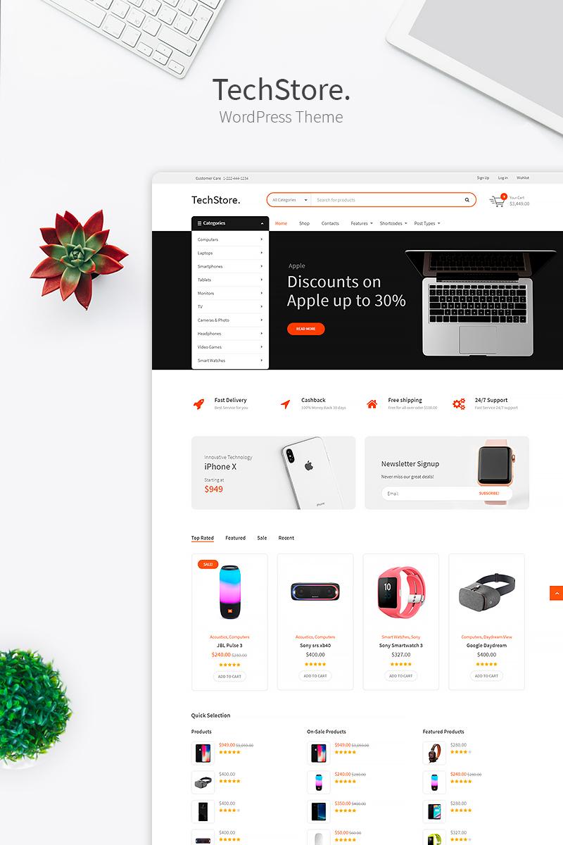 Tech Store - Device, Mobile & Electronics Store №74336 - скриншот