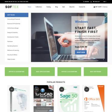 Купить  пофессиональные Shopify шаблоны. Купить шаблон #74415 и создать сайт.