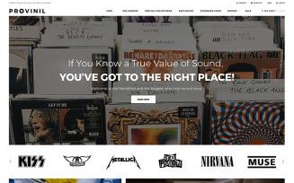 Provinil - Vinyl Store Shopify Theme