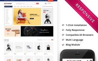 BuyShop - Mega Store Responsive PrestaShop Theme