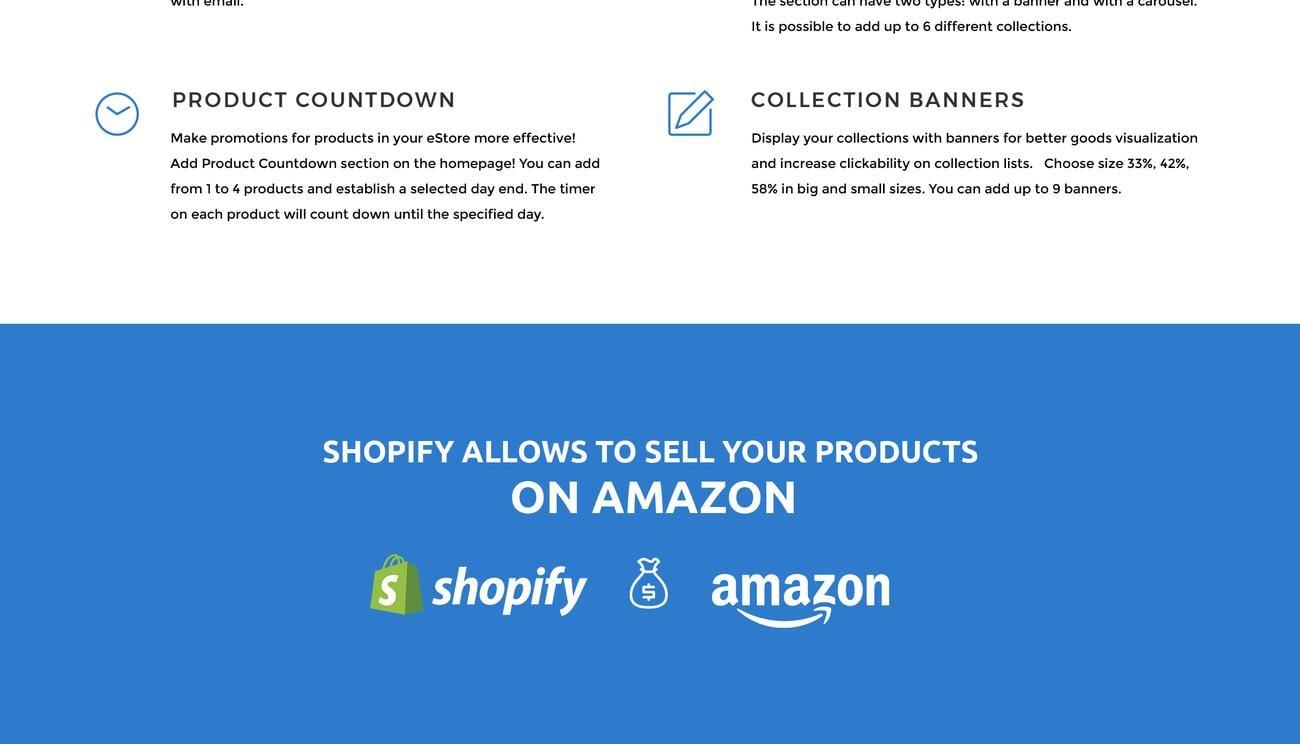 Website Design Template 74453 - shopify