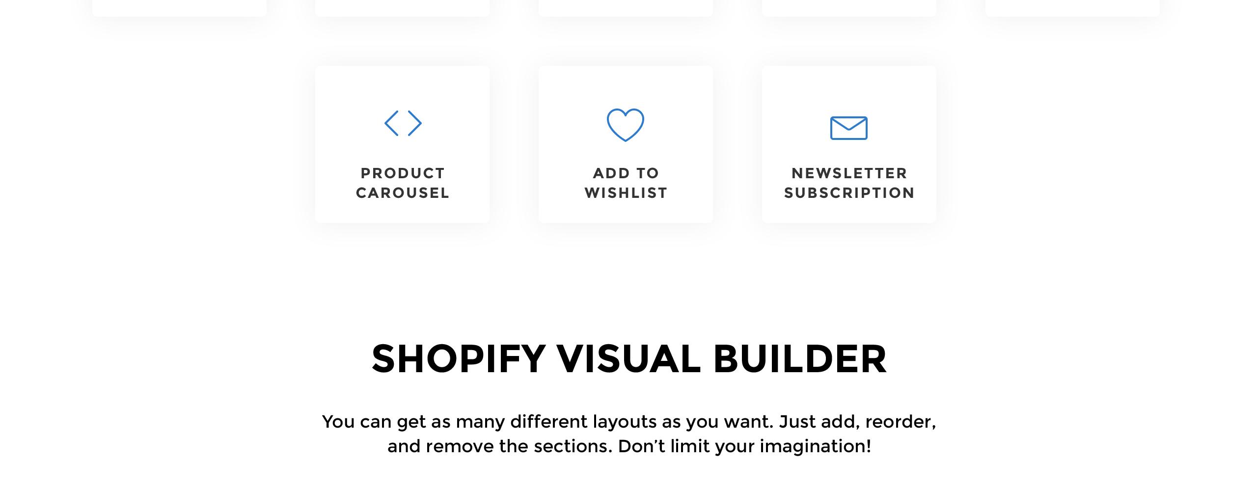 Website Design Template 74453 - electronics gadgets shop shopify