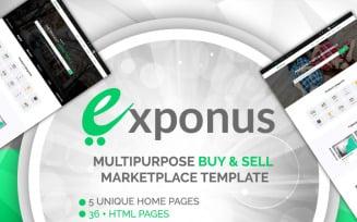 Exponus - Multipurpose Online Digital Marketplace Template