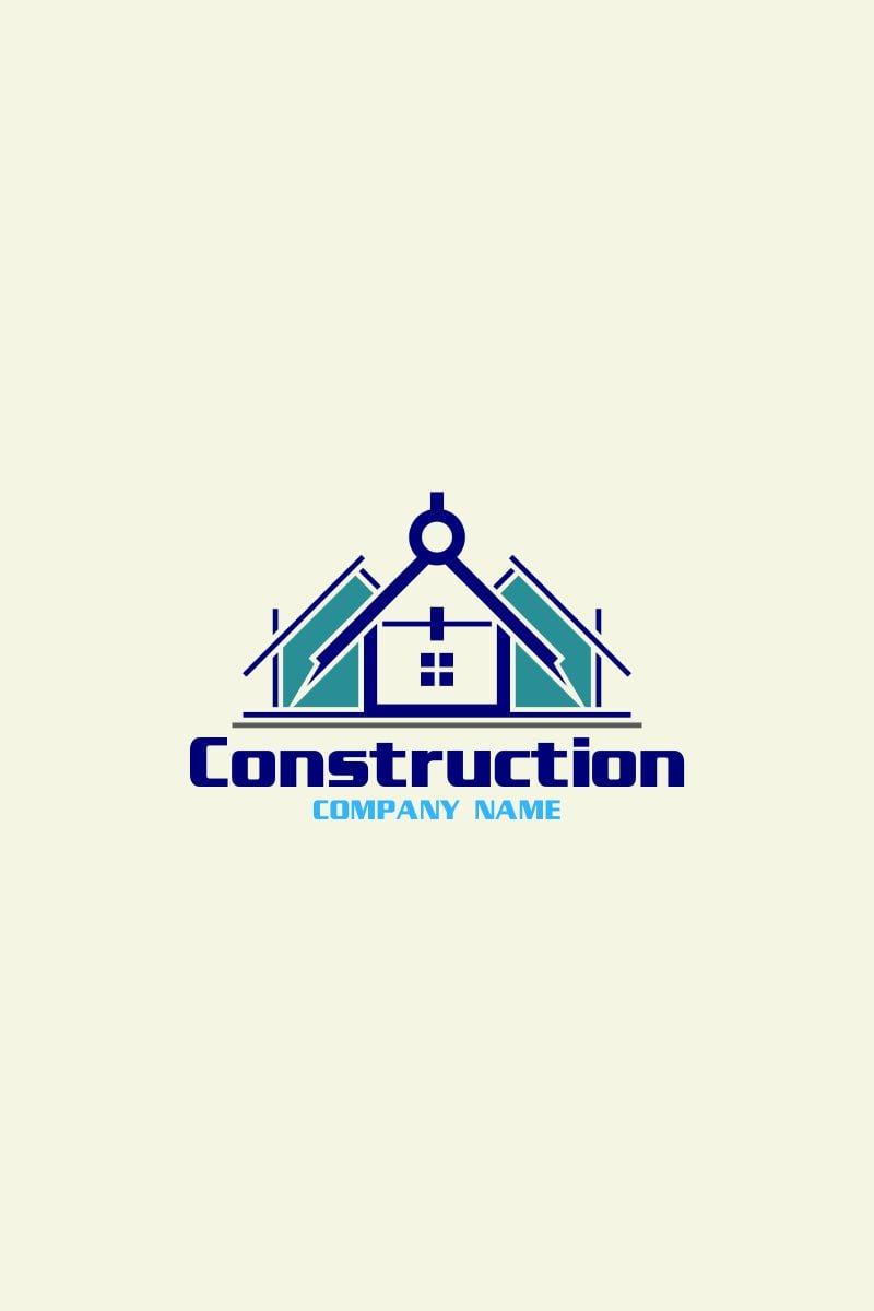 construction logo template  74494