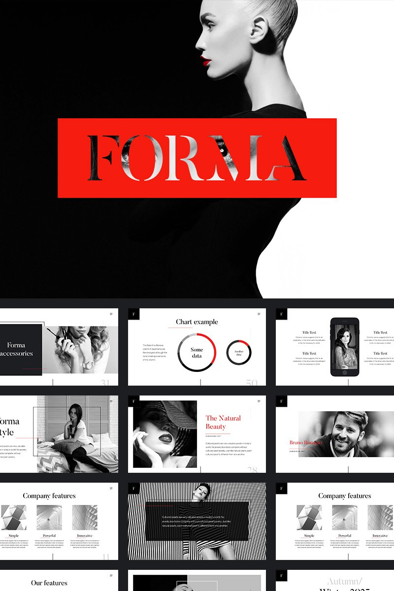 Forma PowerPoint Template