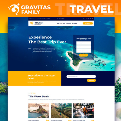 travel templates