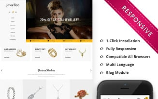 Jewelico - The Jewelry Store Responsive OpenCart Template